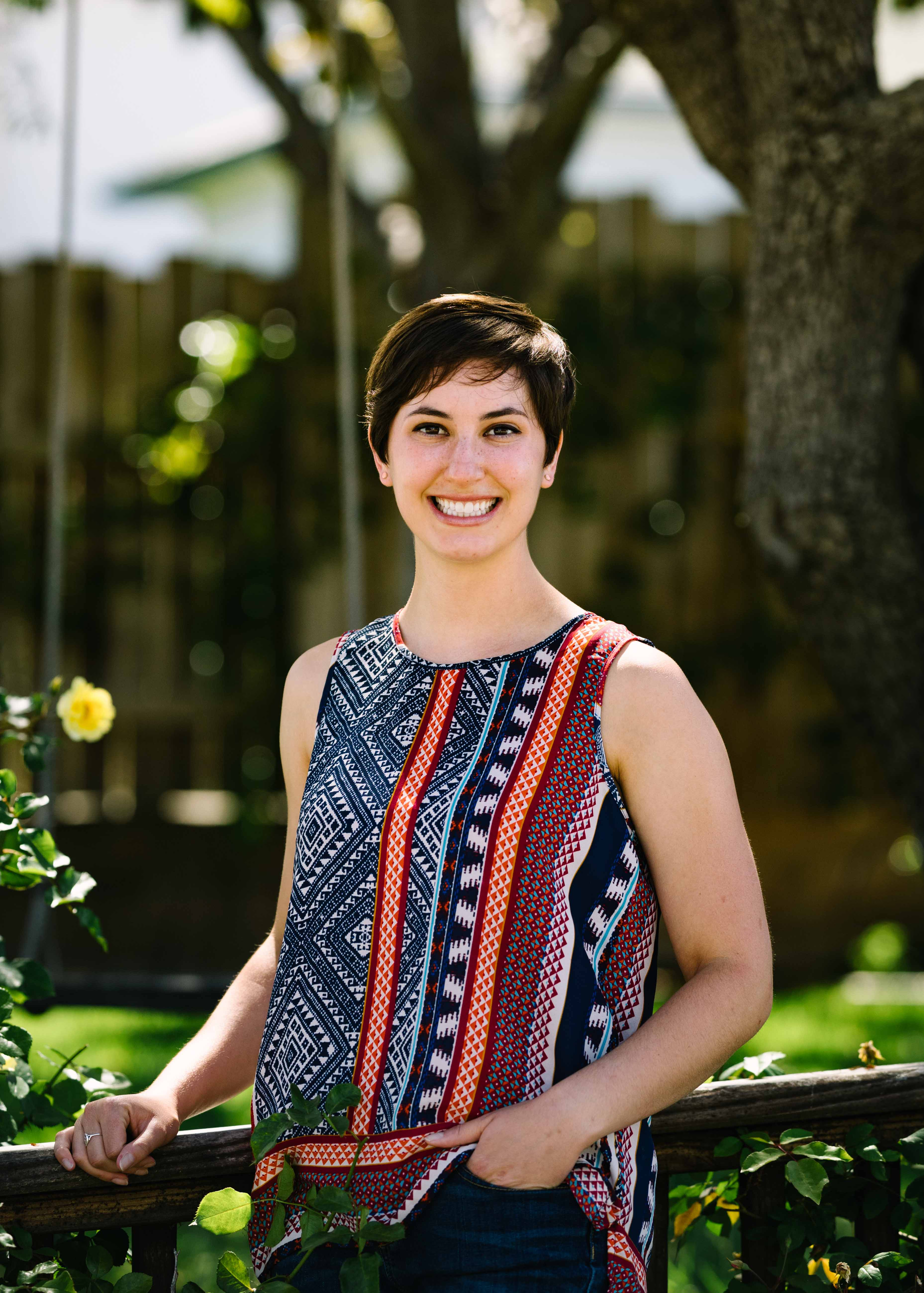 Emily Iskin UC Davis Biological and Agricultural Engineering Alumna