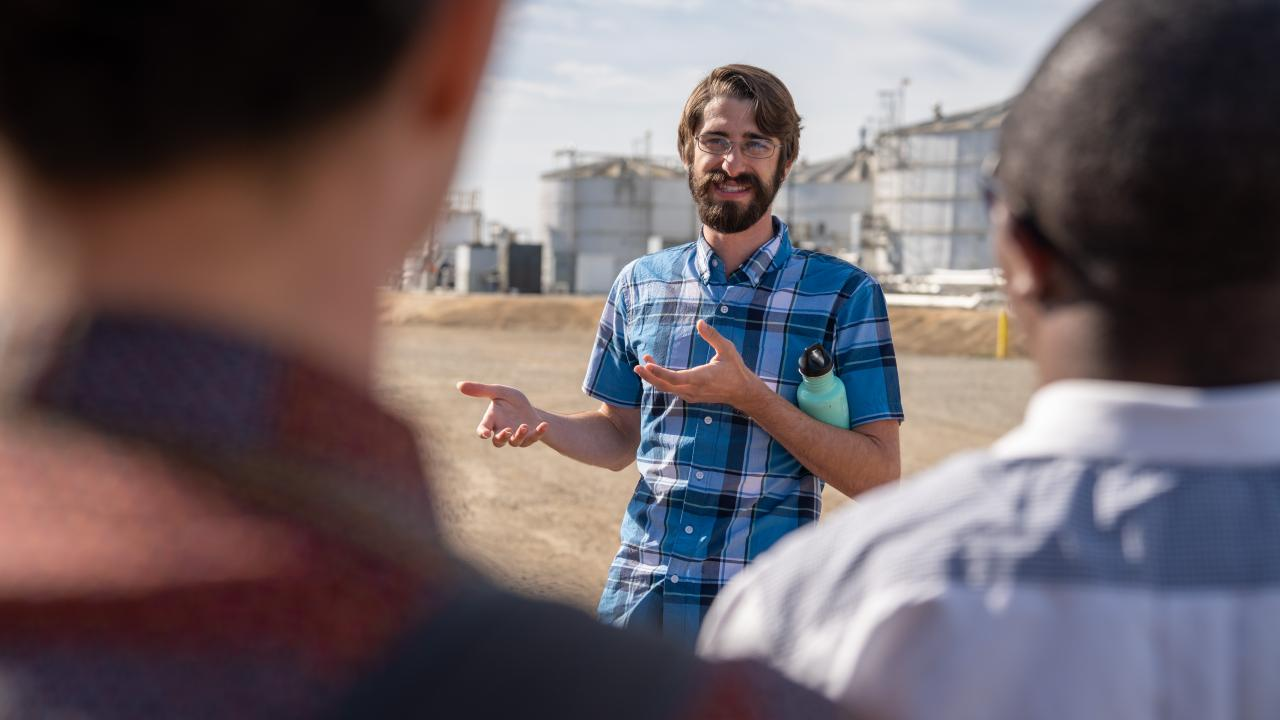 uc davis biological agricultural engineering graduate student tyler barzee