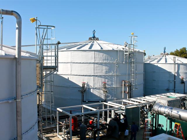 Renewable Energy Anaerobic Digester (READ) at UC Davis Biological and Agricultural Engineering