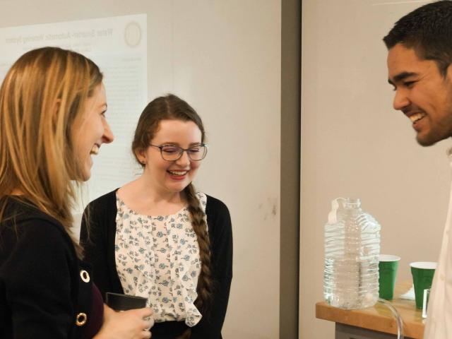 Students Prepare for Careers by Giving Presentations in UC Davis Biological and Agricultural Engineering Department