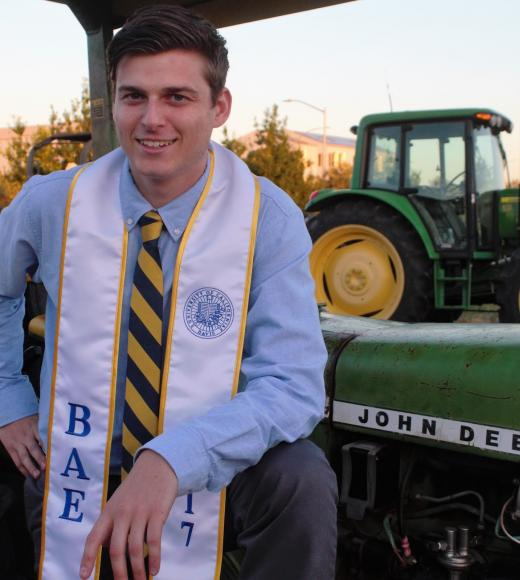 Graduate Student UC Davis Biological and Agricultural Engineering Matthew Paddock