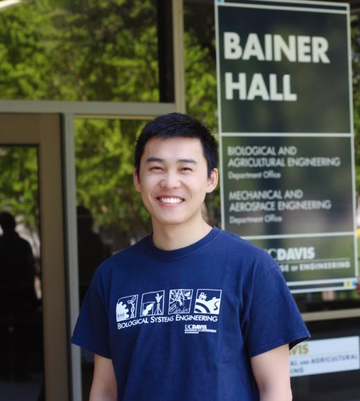 Zhaokun Ning UC Davis Graduate Student Biological and Agricultural Engineerin